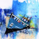 semi abstract trawler